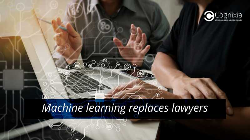 Machine learning replaces lawyers