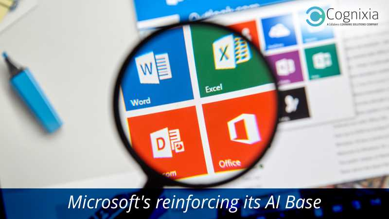 Microsoft reinforcing its ai base