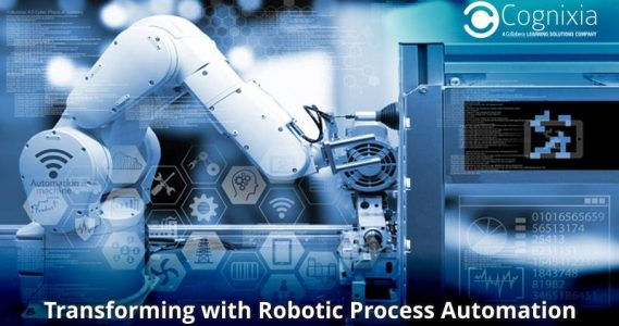 Transforming with Robotic Process Automation