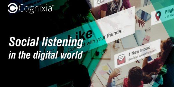 Social listening in the digital world